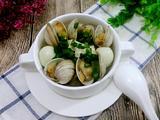 蛤蜊鹌鹑蛋豆腐羹的做法[图]