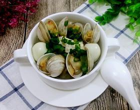 蛤蜊鹌鹑蛋豆腐羹