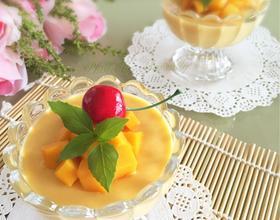 芒果布丁免烤版