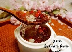 雪燕百合红枣枸杞蔓越莓糖水