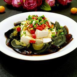 皮蛋拌豆腐的做法[图]