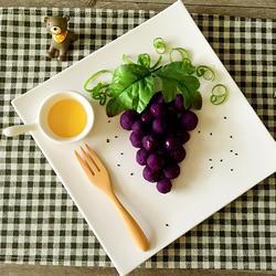 蜂蜜紫薯小葡萄的做法[图]