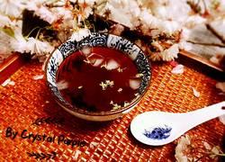 桂花薄荷酸梅汤