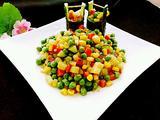 五彩素丁黄瓜桶的做法[图]