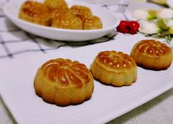 广式豆沙月饼