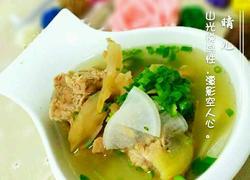天麻罗卜排骨汤