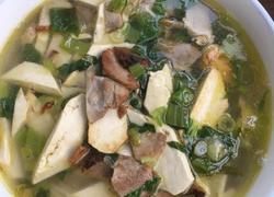 豆腐肉丁汤