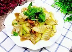 西葫芦炒虾干
