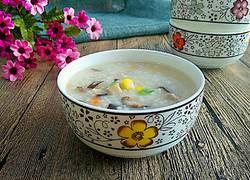 香菇玉米粥