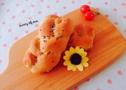 红糖辫子面包