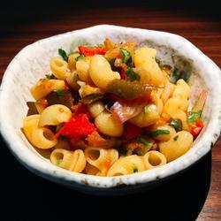 意式烤蔬菜拌烟斗面