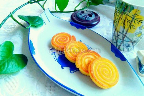 奶香糯米玉米饼
