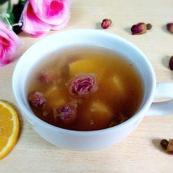 玫瑰花橙子茶