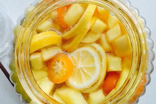 纯水果酵素