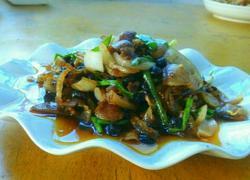 风味豆豉回锅肉