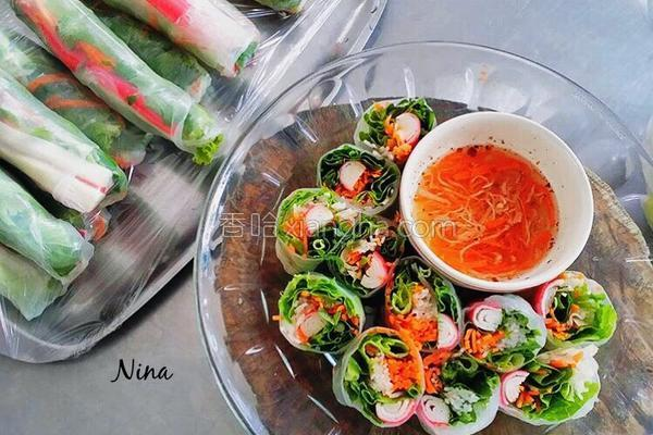 越南春卷的做法