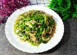 蘑菇炒芹菜