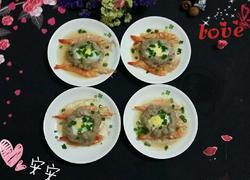 鲜虾肉饼蒸蛋