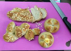 法式面包(法式长棍和麦穗法棍和奶油奶酪包)