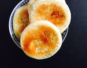 韭菜粉丝饼