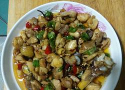 辣子鸡丁(家常菜)