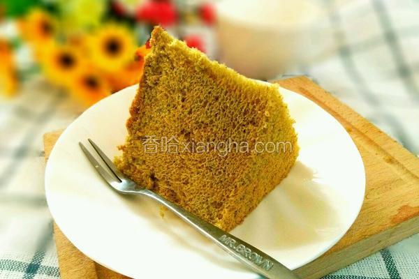 6寸抹茶酸奶戚风蛋糕