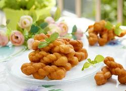 牛奶蜂蜜酥脆软麻花