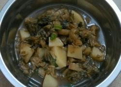 梅菜干焖土豆