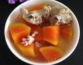 木瓜排骨汤[图]