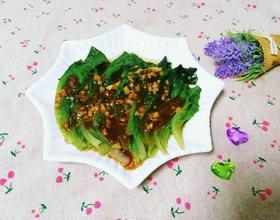 蒜蓉耗油生菜