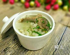 薏米冬瓜排骨汤[图]