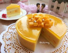 酸奶芒果慕斯蛋糕[图]
