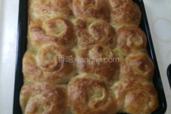 萍果馅面包。