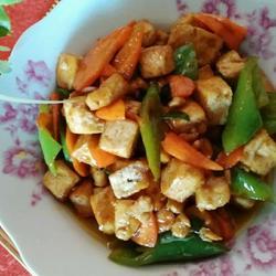 炒豆腐的做法[图]