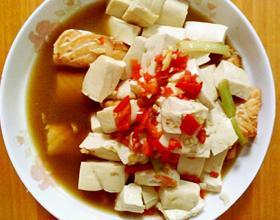 三文魚燉豆腐[圖]
