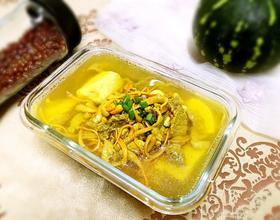 虫草花豆腐汤[图]