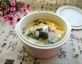 鲫鱼头豆腐汤[图]