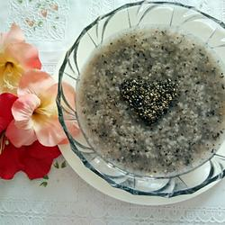 黑芝麻粥的做法[图]