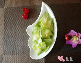 素炒蒜香西葫芦