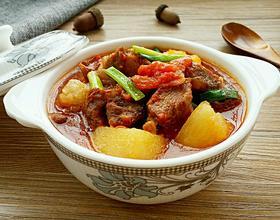 西紅柿土豆燉牛肉[圖]