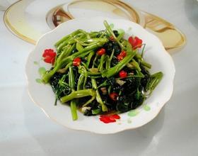 素炒空心菜[图]