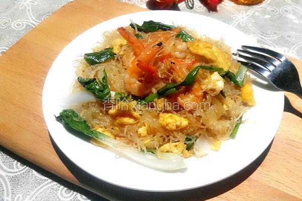 鸡蛋炒米线