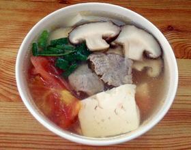 开胃蔬菜瘦肉汤