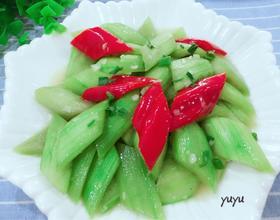 蒜茸炒丝瓜