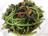 蒜炒紫苋菜的做法[图]