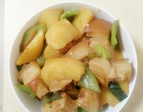 五花肉烧土豆[图]