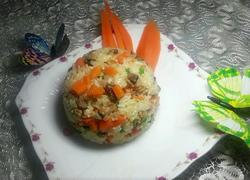 胡萝卜糯米饭