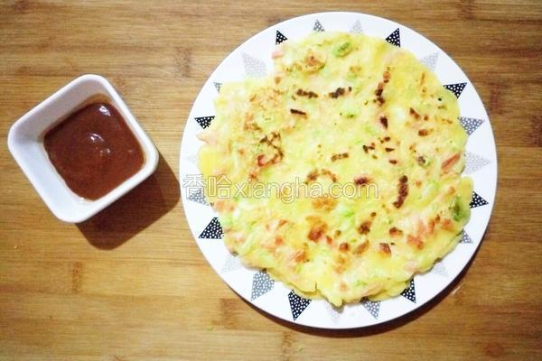 青口西葫芦煎饼