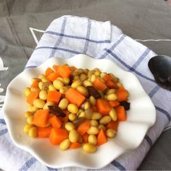 五香煮黄豆