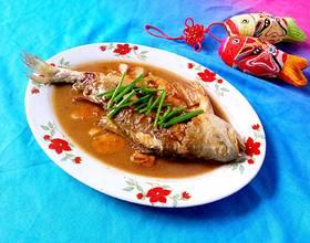 红烧大黄花鱼